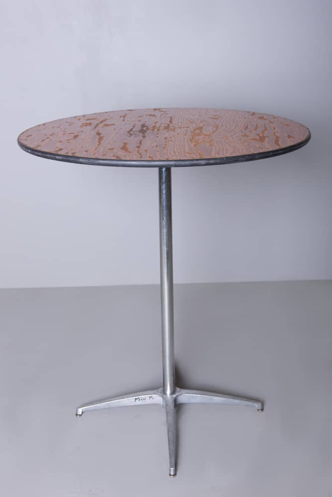 Side tables cocktail tables for rent in los angeles for Cocktail tables rental los angeles