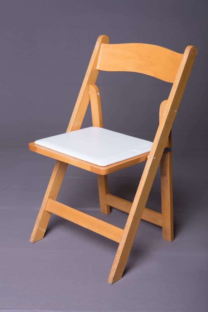Wood Folding Chairs ~ Our inventory of dining tables chair rentals in los angeles