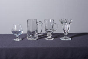 brandy-snifter-beer-mug-irish-coffee-glass-and-tulip-sundae-cup-dinnerware-rental-in-los-angeles