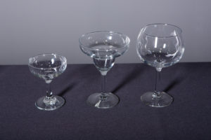 coup-champagne-margarita-and-bola-grande-glass-dinnerware-rental-in-los-angeles